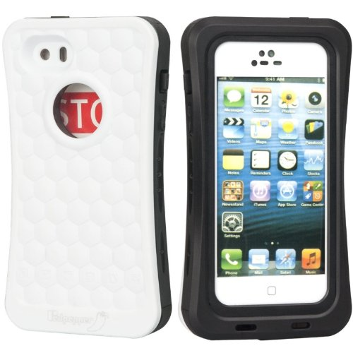 Redpepper Unsinkable Iphone Life Vest Cover Waterproof Shockproof Dirtproof Snowproof Protection Case Float On Water Anti-Settling Pontoon For Iphone 5/5S (White)