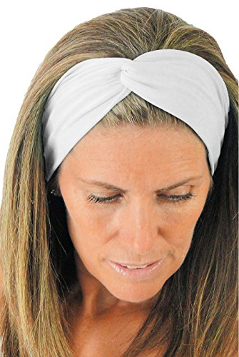 ice cream KNOTTED Twist Bianco White Running Sweatband (Ice Cream Athletics compare prices)