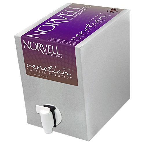 Norvell Venetian ONE One Hour Rapid Sunless Solution EverFresh Box - Liter (Spray Tan Solution compare prices)