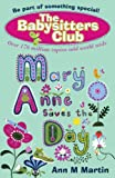 Mary Anne Saves the Day (New Babysitters Club 2010)