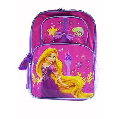 Disney Princess Tangled Backpack - Disney Rapunzel backpack - Full Size