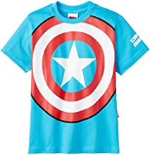 Avengers Boys' T-Shirt (ABTS-1526_Teal Blue_3-4 years)