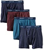 517lrQS1OVL. SL160  Buy Fruit of the Loom Mens 4 Pack Low Rise Boxer, Assorted, X Large Reviews