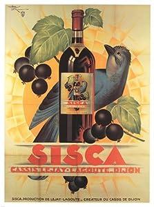 Sisca Poster by Henri Le Monnier (18.00 x 24.00)