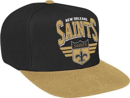 New Orleans Saints Stadium Throwback Snapback Hat at Amazon.com