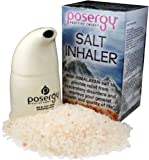 Refillable Salt Inhaler with 100% Pure Himalayan Crystal Salt By Posergy