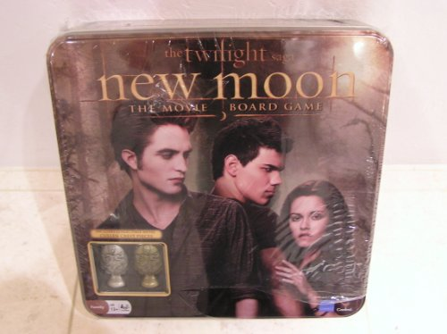 Twilight Saga New Moon the Movie Board Game with Collectible Metal Pieces