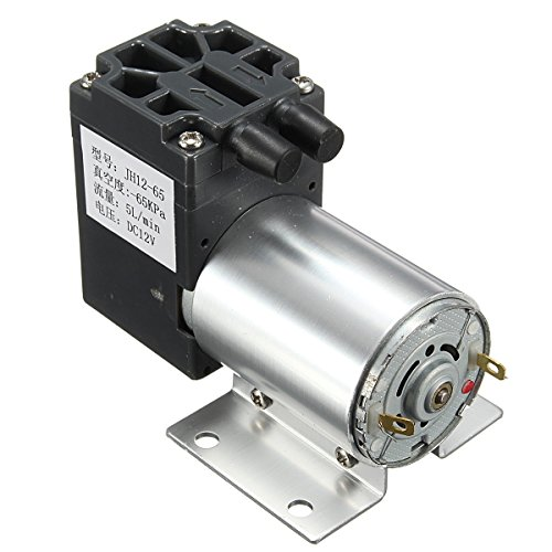 DC 12V Vacuum Pump Suction Pump with Bracket Negative Pressure Suction (Gas Operated Dryer compare prices)
