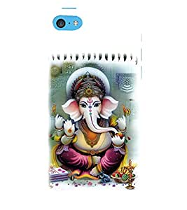 Vizagbeats Lord Ganesha Back Case Cover for Apple iPhone 6