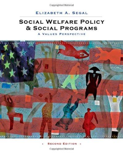 Social Welfare Policy and Social Programs: A Values...