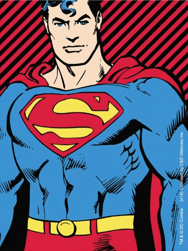 Licenses Products DC Comics Originals Superman Stripes Sticker