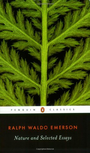 nature and selected essays
