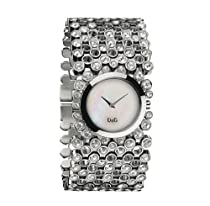 Dolce & Gabbana D&G Ladies Watch RISKY DW0243 DW0244 DW0245, Color: Silver-Coloured, Size: One Size