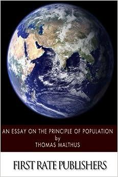 essay on principle of population summary
