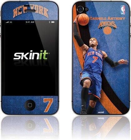 Skinit NY Knicks Carmelo Anthony #7 Action Shot Vinyl Skin for Apple iPhone 4 / 4S