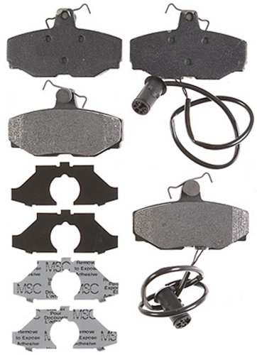Raybestos PGD408M Professional Grade Semi-Metallic Disc Brake Pad Set