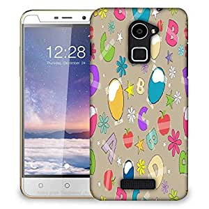 Snoogg Alphabets Balloons Designer Protective Phone Back Case Cover For Coolpad Note 3 Lite