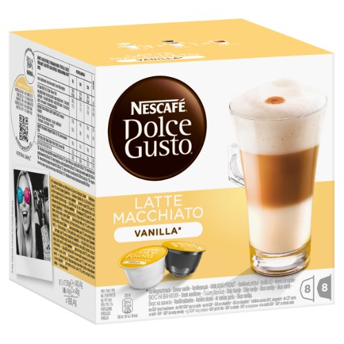 Choose Dolce Gusto Latte Macchiato Vanilla by Nescafé