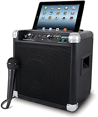 ION Tailgater Bluetooth Portable Speaker System with Auxiliary USB Charger (Certified Refurbished)