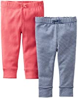 Carter's Baby Girls' 2-pack Pants