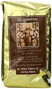 St Ignatius Gourmet Coffee St. Peter Claver S J, All Day Blend Ground 12-ounce Bags (Pack of 3)