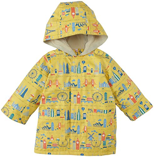 Magnificent Baby Baby-Boys Newborn World Cities Raincoat, Multi, 12 Months