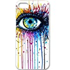 S9Q Colorful Eye Retro Funny Vintage Patterned Hard Back Case Cover Skin For Apple iPhone 5 5G 5S Style A (multi)