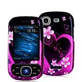 Samsung Strive A687 Purple Love Protective Case Faceplate Cover