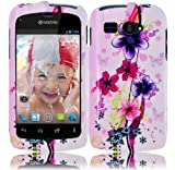 For Kyocera Hydro C5170 Hard Design Cover Case Elite Flower