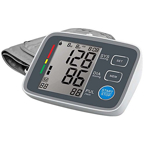 Auto Upper Arm Blood Pressure Monitor with Large Cuff by Koudou,Large LCD,WHO...