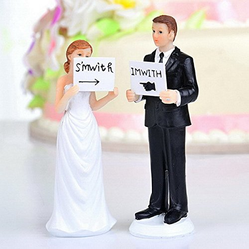QTMY Romeantic Wedding Cake Toppers Wedding Favors Suppliers