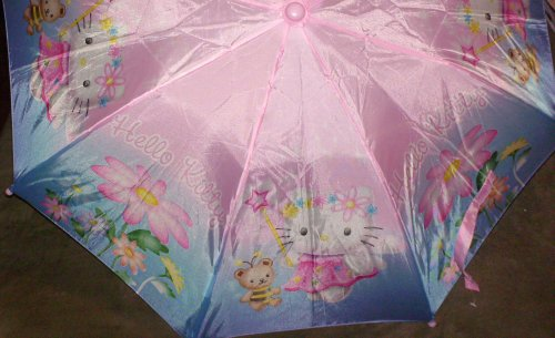 Hello Kitty Collapsible Umbrella with Figure Handle - Buy Hello Kitty Collapsible Umbrella with Figure Handle - Purchase Hello Kitty Collapsible Umbrella with Figure Handle (Hello Kitty, Toys & Games,Categories,Pretend Play & Dress-up,Costumes,Accessories)