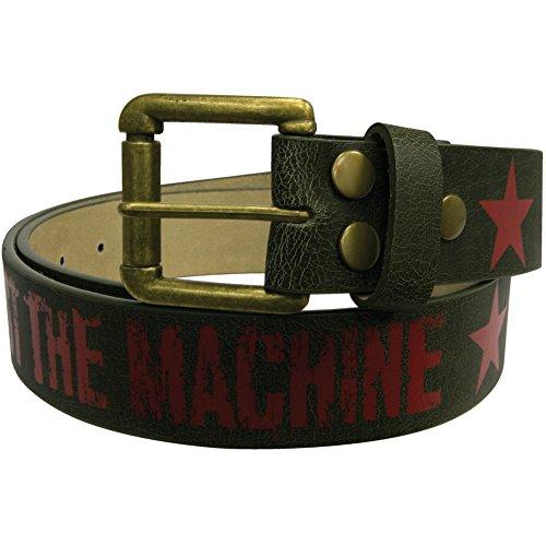 Rage Against The Machine-Star Studded Belt Black XL