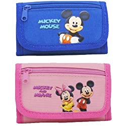 Disney Mickey and Minnie Wallets (2 Wallets)