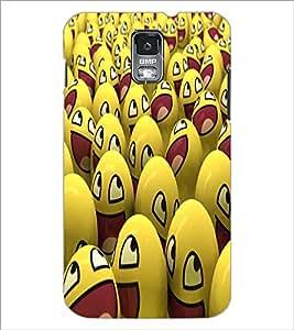 PRINTSWAG SMILEYS Designer Back Cover Case for SAMSUNG GALXAY S5