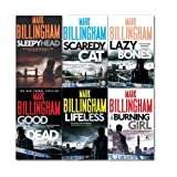 Mark Billingham Tom Thorne Novels Collection 6 Books Set (Sleepy Head, Scaredy Cat, Lazy Bones, the Burning Girl, Lifeless and Good as Dead)