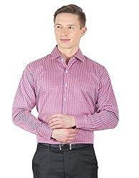 Arihant Men's Cotton Checkered Formal Shirt (AR73030144)