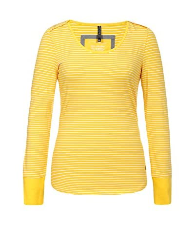 ICEPEAK Camiseta Manga Larga Lane Amarillo