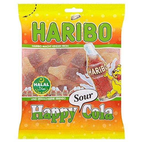 Haribo Happy Cola Sour, Helal / Halal, 100g