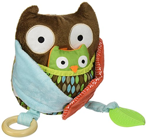 Skip Hop Skip hop Treetop Friends Hug & Hide Owl Activity Toy, Multi Color