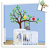 Roommates Repositionable Childrens Wall Stickers - Scroll Tree