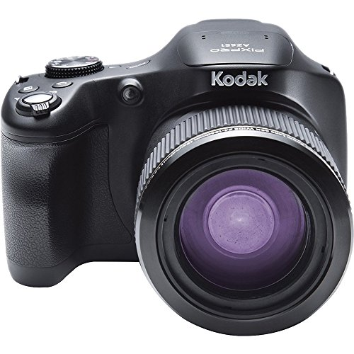Kodak Astro Zoom AZ651-BK   Digital Camera with 65.0x Optical Image Stabilized Zoom  with 3.0-Inch LCD (Black)