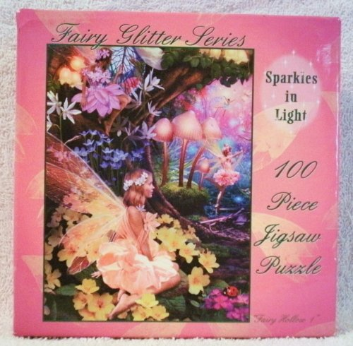 "Fairy Glitter Series ""Sparkles in Light"" 100 Piece Jigsaw Puzzle - 1"