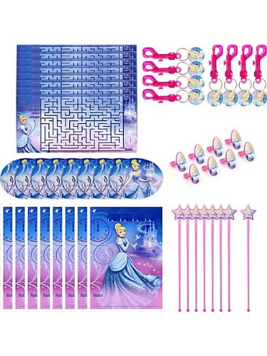 Cinderella Party Favor Pack