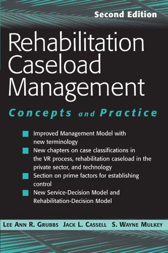 Rehabilitation Caseload Management: Concepts and...