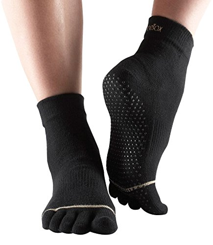 ToeSox Full Sock, Size- S, Color- Black