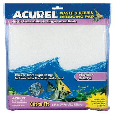Imagen de Acurel LLC reducción de desperdicios y escombros Media Pad, el Acuario y Estanque de accesorios de filtro, de 10 pulgadas por 18 pulgadas