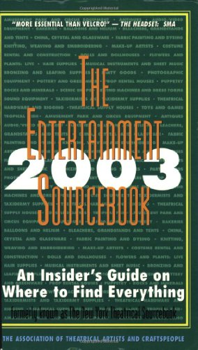 The Entertainment Sourcebook: 2003: An Insider'S Guide On Where To Find Everything