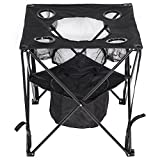 LazyDaze Hammocks® Patio Outdoor Foldable & Portable Tailgate Table