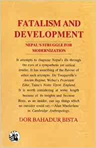 for Modernization: Dor Bahadur Bista: 9788125001881: Amazon.com: Books